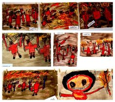 diables Photo And Video, Preschool, Painting, Art, Party, Devil, Bricolage, Art Background, Kid Garden