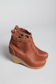 No. 6 wedge clog boot, Totokaelo--i love these