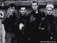 "Depeche during the ""Strangelove"" music video. Love."