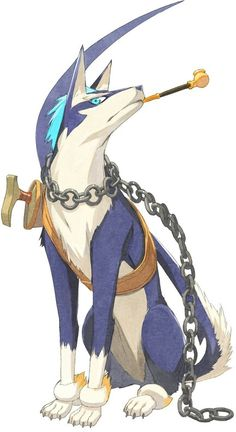 Repede (Tales of Vesperia) - Another one of my attack dogs. \o/