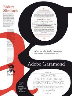 Adobe garamond, poster typography poster fonts, type posters, typographic p Typo Poster, Poster Fonts, Typographic Poster, Inspiration Typographie, Typography Inspiration, Graphic Design Inspiration, Typography Images, Typography Letters, Graphic Design Typography