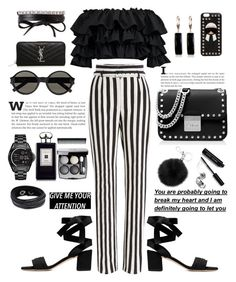 """""""Untitled #146"""" by xenia-fashionista ❤ liked on Polyvore featuring Dolce&Gabbana, Boohoo, Yves Saint Laurent, Fendi, Belk & Co., MICHAEL Michael Kors, Bobbi Brown Cosmetics, Chanel, Fallon and Michael Kors"""