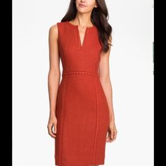 NWT Tory Burch Cornelia Wildberry/Cinnamon Stick 4 Brand new Cornelia Dress. Color Wildberry/Cinnamon Stick, 643. Style 31121409. Retail $395.00. 52% Rayon, 48% Wool. Fully lined. Size 4 Tory Burch Dresses Midi