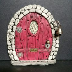 Check out this item in my Etsy shop https://www.etsy.com/listing/225073392/fairy-door-799-m-gnome-hobbit-elves