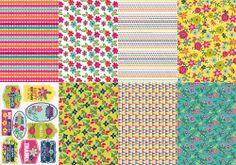 Summer Floral Bonus Papers | cardmakingandpapercraft.com