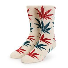 PRE-ORDER the new colors! HUF Blossom Plantlife Crew Socks | Zumiez Exclusive