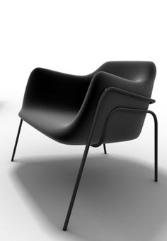 GAR Armchair #black #modern #chair @Courtney Baker Baker LaLa + form
