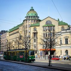 Strolling around the centre of Helsinki Finland. Cultural Events, Capital City, Helsinki, Centre, Street View, Landscape, Travel, Finland, Scenery