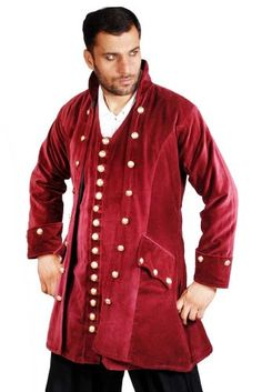 Pirate Frock Renaissance Medieval Costume Coat Jacket XXXLarge ** Check out the image by visiting the link.