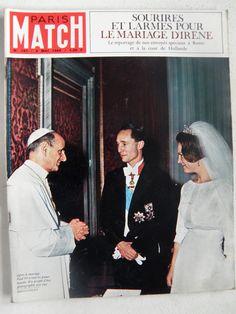 Princesse Irène des Pays-Bas, Charles-Hugues de Bourbon-Parme et Pape Paul VI