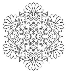 Easy Flower Mandala Coloring Pages. 30 Easy Flower Mandala Coloring Pages. Coloring Books Printable Mandalas Coloring Pages for Mandalas Painting, Mandalas Drawing, Mandala Coloring Pages, Coloring Book Pages, Dot Painting, Printable Coloring Pages, Coloring Sheets, Zentangles, Snowflake Coloring Pages