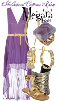 Megara from Hercules - Halloween Costume Idea ~ Maybe for next year---- I might even wear the amethyst diamond ring my cheating ex gave me. How perfect!!!