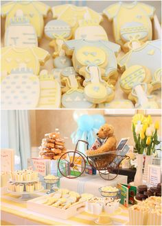 Photos from Jacob's baby shower by Courtney Whitmore!!!  Children's Book Themed Baby Boy Shower! on http://pizzazzerie.com