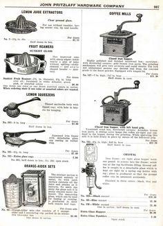 John Pritzlaff Hardware Wisconsin Co. juicers