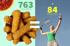 Required Calories to Burn off Your Meal