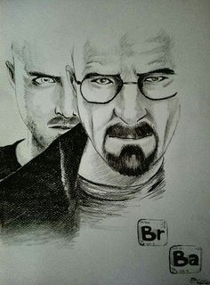 Breaking Bad ,matite su carta.