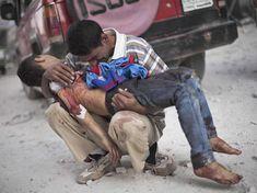 Bombardeo químico en Siria (Business Insider)