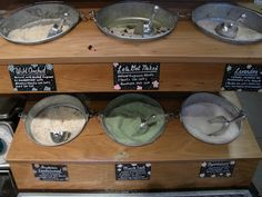 bath salt bulk display - Google Search