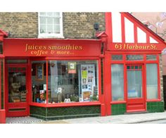 The nicest of little shops in Whitstable and the greatest smoothies in town.....