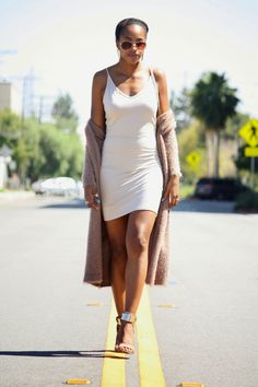 Honey In My Heels ---->>> Twisted Nude #fashion #streetstyle #blogger #ootd