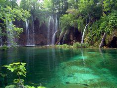 Kroatien Nationalpark Plitvicer Seen.