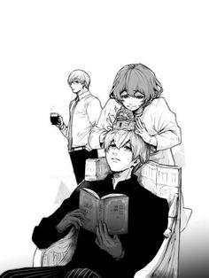 Arima, Haise, & Eto