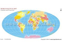 Buy world map of northern hemisphere buy world map in aitoff projection gumiabroncs Image collections
