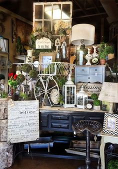 Love the look of this display... Thinking of using it at the entrance to my new store.... Coming Soon! ;)