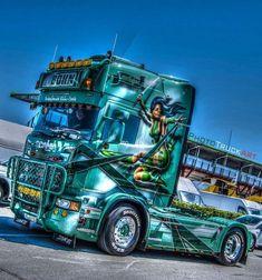 Show Trucks, Used Trucks, Trucks And Girls, Big Rig Trucks, Customised Trucks, Custom Trucks, Custom Big Rigs, Truck Art, Volvo Trucks