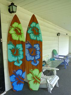 , 6 Foot Wood Hawaiian Surfboard Wall Art Decor or Headboard kids room Wood base sign , **Our boards have been on Travel Channels show Hotel Impossible and featured in HGTV Magazines June 2017 issue. This can be done in othe. Decoration Surf, Surf Decor, Hanging Wall Art, Wall Art Decor, Thema Hawaii, Deco Surf, Hawaiian Decor, Beach Wood, Surfboard Art