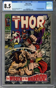 Thor #152  CGC 8.5 in great condition!     http://coloradocomics.com/products/thor-152-cgc-8-5?utm_campaign=social_autopilot&utm_source=pin&utm_medium=pin