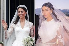 8 Celebrity Wedding Hairstyles for Brides with Long Hair | Brides.com