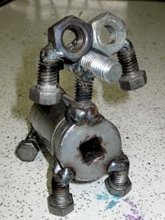 Yard Art Made From Junk | Welding students sell yard art for charity | timesfreepress.com