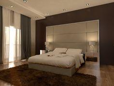 Bedroom Bed Design, Bedroom Furniture Design, Modern Bedroom, Master Bedroom, Bedroom Decor, False Ceiling Design, Apartment Interior, Luxurious Bedrooms, Headboards