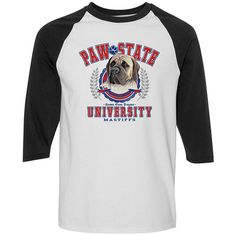[Baseball Tee] - Mastiff PSU