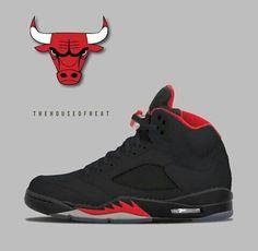 "Air Jordan (Retro) 5 ""Dirty Bred"" Concept"