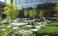 Northwest Laboratory Courtyard | The Landscape Architect's Guide to Boston #landarch