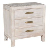 This is a really nice night stand. I particular like that you can see the wood grain underneath the stain color. It seems like this is made out of solid wood. That would make it a really durable piece of furniture to have.