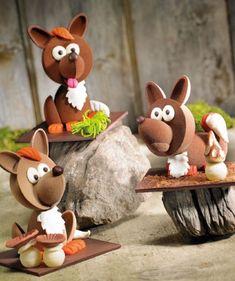 Chocolate Delight, Chocolate Art, Homemade Chocolate, Chocolate Showpiece, Chocolate Sculptures, Cute Desserts, Easter Eggs, Fondant, Cake Decorating