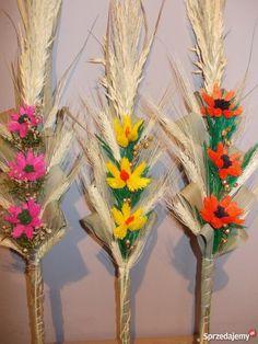 Palmy Wielkanocne Rękodzieło lubelskie Lubartów sprzedam Polish Easter, Easter Crafts, Crochet Stitches, Lego, Blessed, Table Decorations, Paper, Diy, Tamales