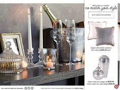 Spring Catalogue Marketing Software, Content Marketing, Mr Price Home, Glass Candle Holders, Spring Colors, Modern Decor, Catalog, Inspiration, Home Decor