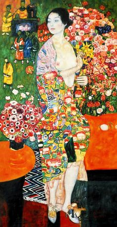 GUSTAV KLIMT. The Dancer. 1918.