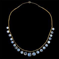Antique Moonstone Necklace = Gorgeous!