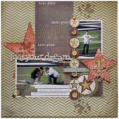 Live Your Dream layout/Shellye McDaniel