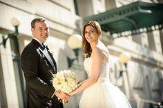 Washington DC Wedding Couple's Portrait