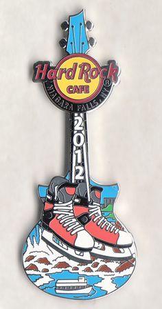Guitar Pins, Hard Rock, Niagara Falls, Hard Rock Music