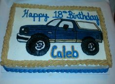 Icing transfer ford bronco