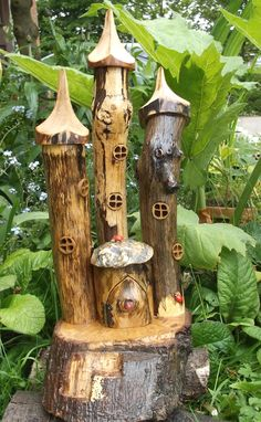 Life Size Fairy Houses It Is A Fairy Tree Stump House In