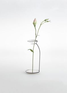 Kishu by Maya Selway is a series of objects that seem like half-finished sketches of candle holders, vases, bowls and bottles.
