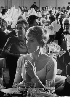 Julie Andrews at 'The Sound of Music' New York premiere, March 1965